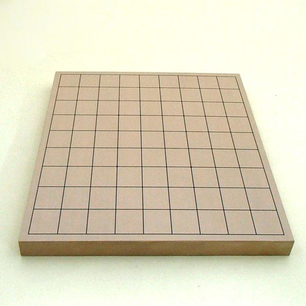 新桂10号卓上13路碁盤・将棋両用盤(裏表)将棋面