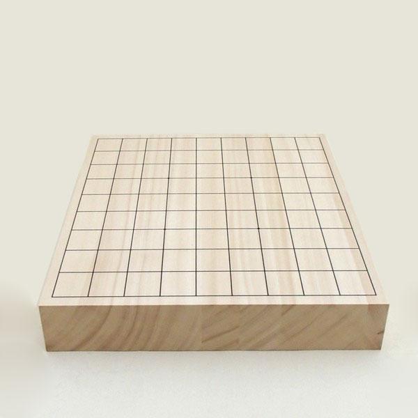 ヒバ2寸卓上接合将棋盤竹