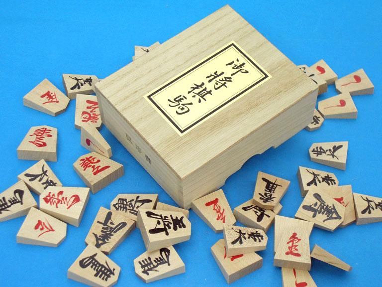 将棋駒:楓漆書